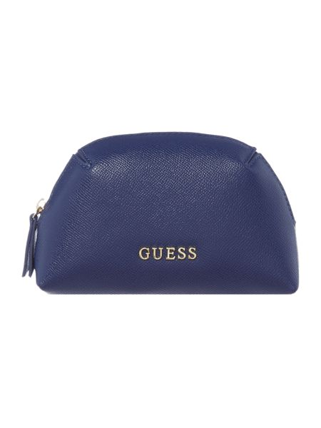 Guess Isabeau navy key chain keyring