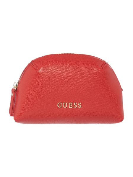 Guess Isabeau red key chain keyring