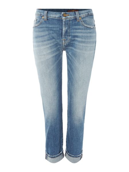 7 For All Mankind Josefina crop jean in spring valley