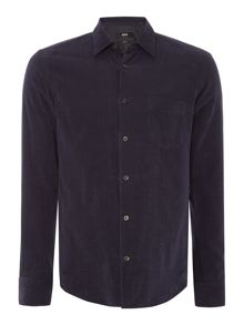 Hugo Boss Reid 32FP slim fit baby corduroy shirt
