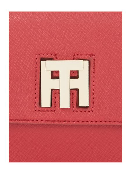 Tommy Hilfiger Twist red small crossbody bag