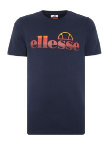 Ellesse Regular fit graduated logo printed t shrt
