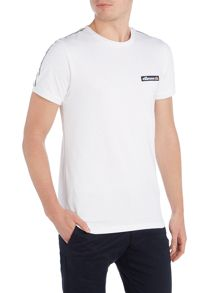 Ellesse Regular fit tape sleeve badge logo t shirt