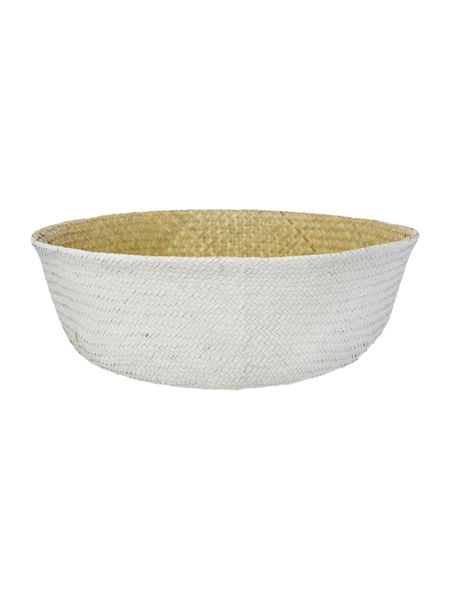 Bloomingville Seagrass basket, natural & white, large