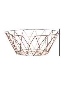 Bloomingville Bread basket copper plated