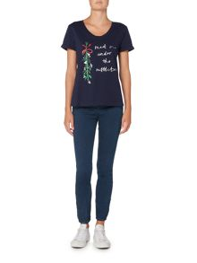 Dickins & Jones Michaela Mistletoe Christmas T-shirt