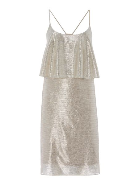 Therapy Syden Metallic Cami Dress