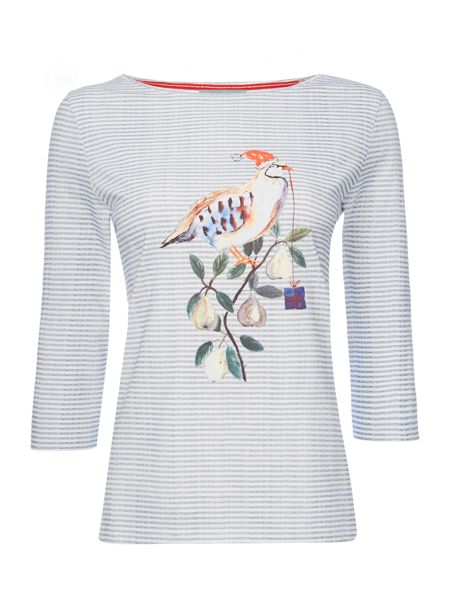 Dickins & Jones Penny Partridge Christmas T-shirt