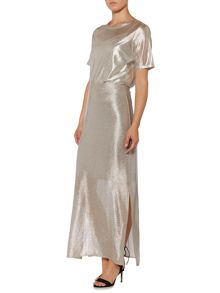 Therapy Syden Metallic Maxi Skirt