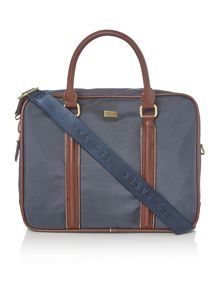 Ted Baker Carbon Nylon Document Bag