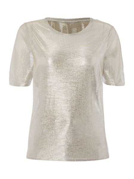 Therapy Syden Metallic Top