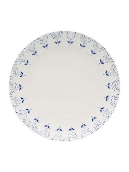 Dickins & Jones Penzance porcelain dinner plate