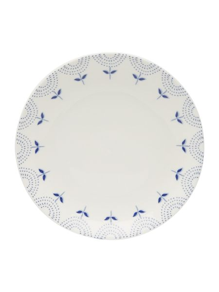 Dickins & Jones Penzance porcelain rim side plate