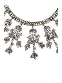 Max Mara Bardies embellished necklace