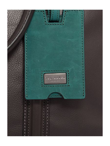 Ted Baker Dice Leather Document Bag
