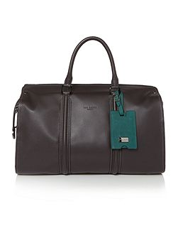 Dogtag Leather Holdall