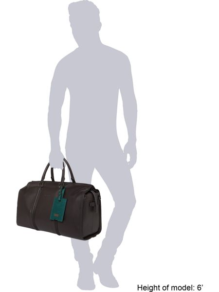 Ted Baker Dogtag Leather Holdall