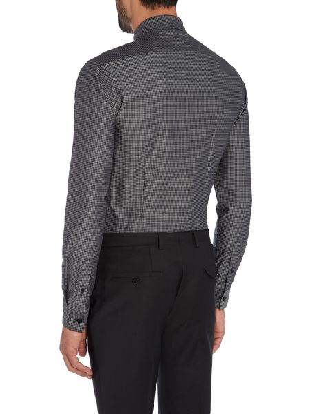 Label Lab Mason textured skinny shirt