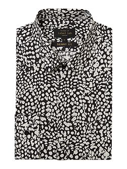 Piper animal print skinny shirt