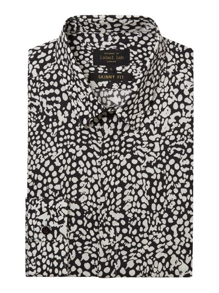 Label Lab Piper animal print skinny  shirt