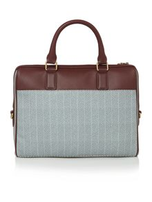 Ted Baker Louis Herringbone Print Document Bag