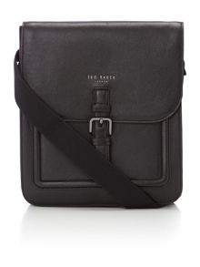 Ted Baker Paristo Raised Edge Leather Flight Bag