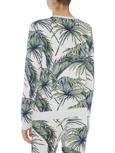 Zoe Karssen Lost without you tropical print sweater