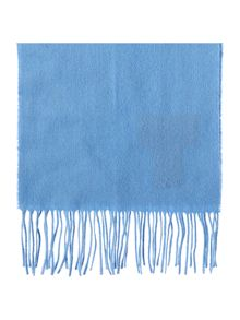 Barbour Plain brushed lambswool scarf