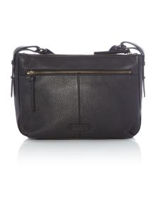 Radley Grosvenor black medium cross body bag