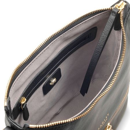 Radley Pickering black small cross body bag