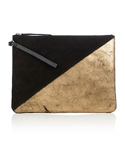 Hallowell oversized pouch