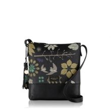 Radley Herbarium black medium cross body bag