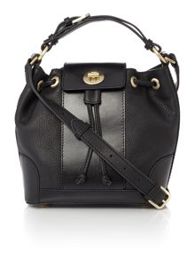 Radley Chancery black small multiway bag