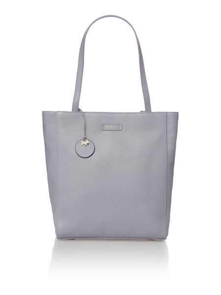 Radley Longacre blue large ziptop tote bag