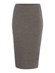 Max Mara Zambia jacquard pencil skirt