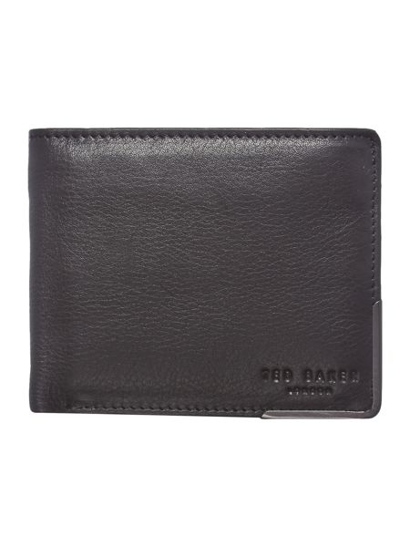 Ted Baker Metal Corner Leather Card and Coin Wallet