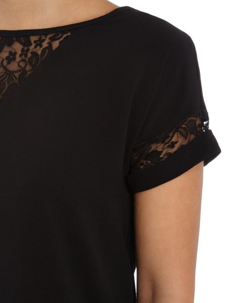 Therapy Lace Detail Blouse