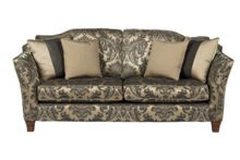 Linea Argyle Large Fixed Sofa Standard Back