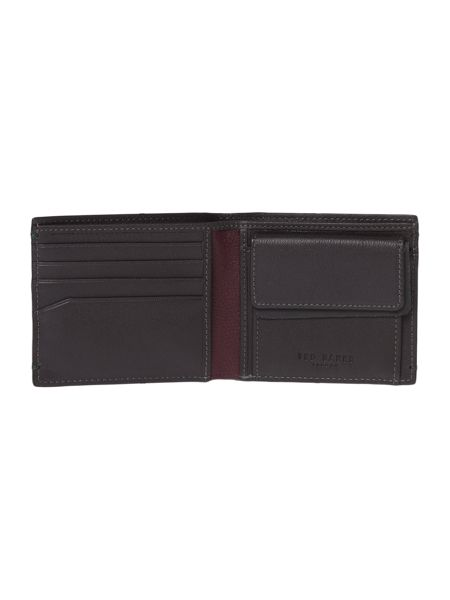Ted Baker Dave Colour Coin Bi-fold Wallet