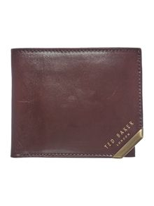 Ted Baker Korning Metal Corner Bi-fold Coin Wallet