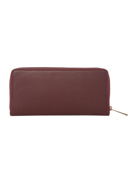 Max Mara Bolsena zip around leather purse