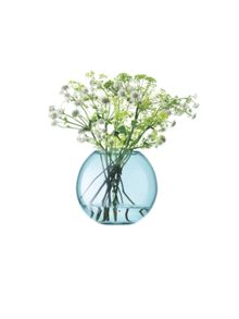 LSA Polka Vase H16cm Apple Green