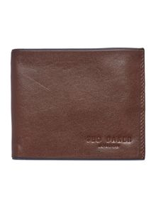 Ted Baker Raven Contrast Leather Wallet
