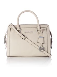 Michael Kors Collins grey medium tote bag