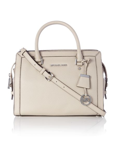 Michael Kors Collins neutral medium tote bag