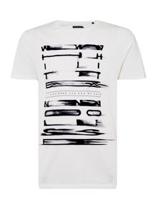Label Lab White Noise Graphic T-shirt
