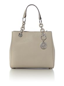 Michael Kors Cynthia grey small tote bag