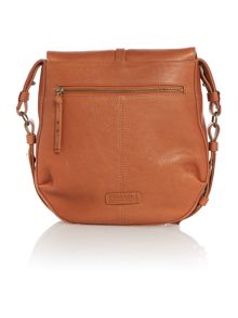 Radley Grosvenor tan medium cross body bag
