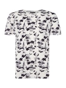 Label Lab Floral Ikat Graphic-Print T-Shirt
