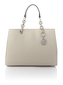 Cynthia grey medium tote bag